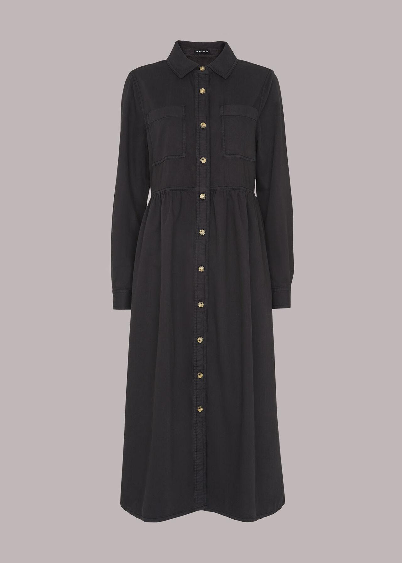 Button Up Shirt Dress