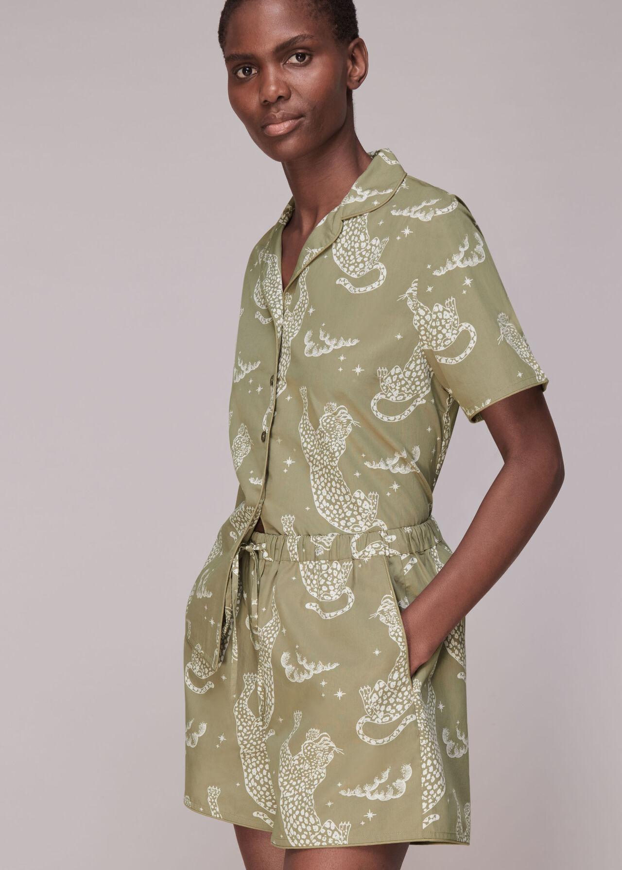Starred Leopard Pyjamas