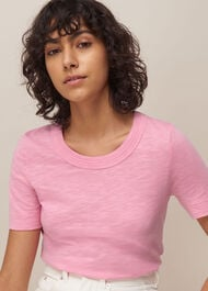 Rosa Double Trim T-shirt