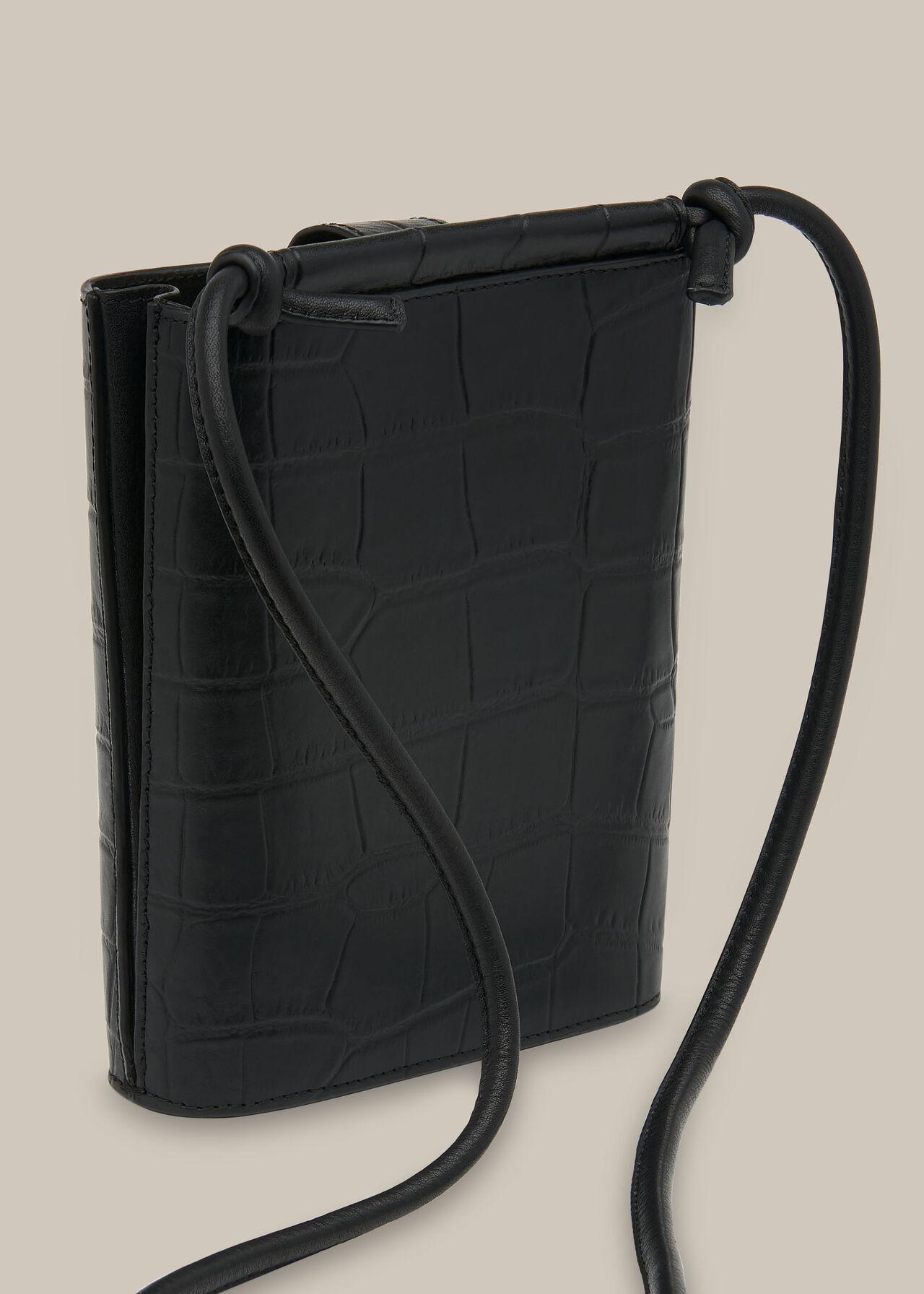 Alton Croc Pouch Bag