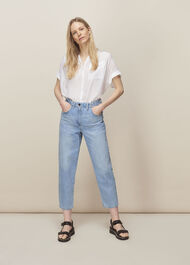 Elasticated Waist Soft Jean Denim