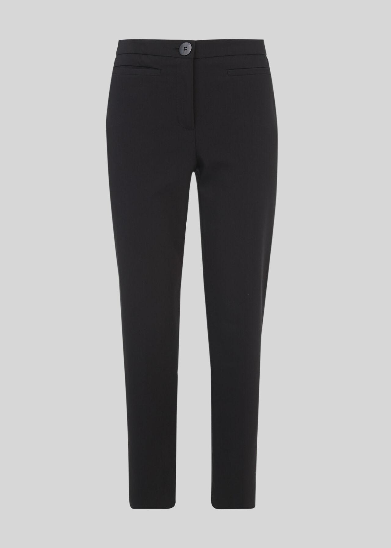 Megan Slim Leg Trouser Black