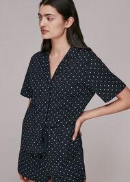 Spot Print Short Pyjamas