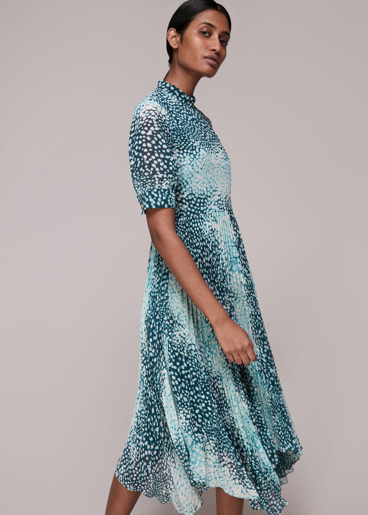 Esme Dalmation Print Dress