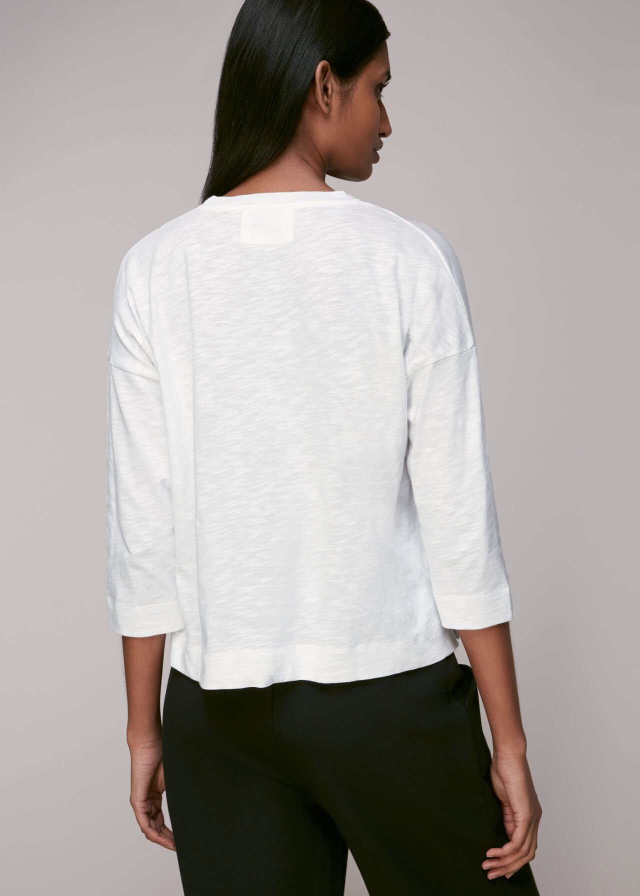 Cotton Pocket Top White