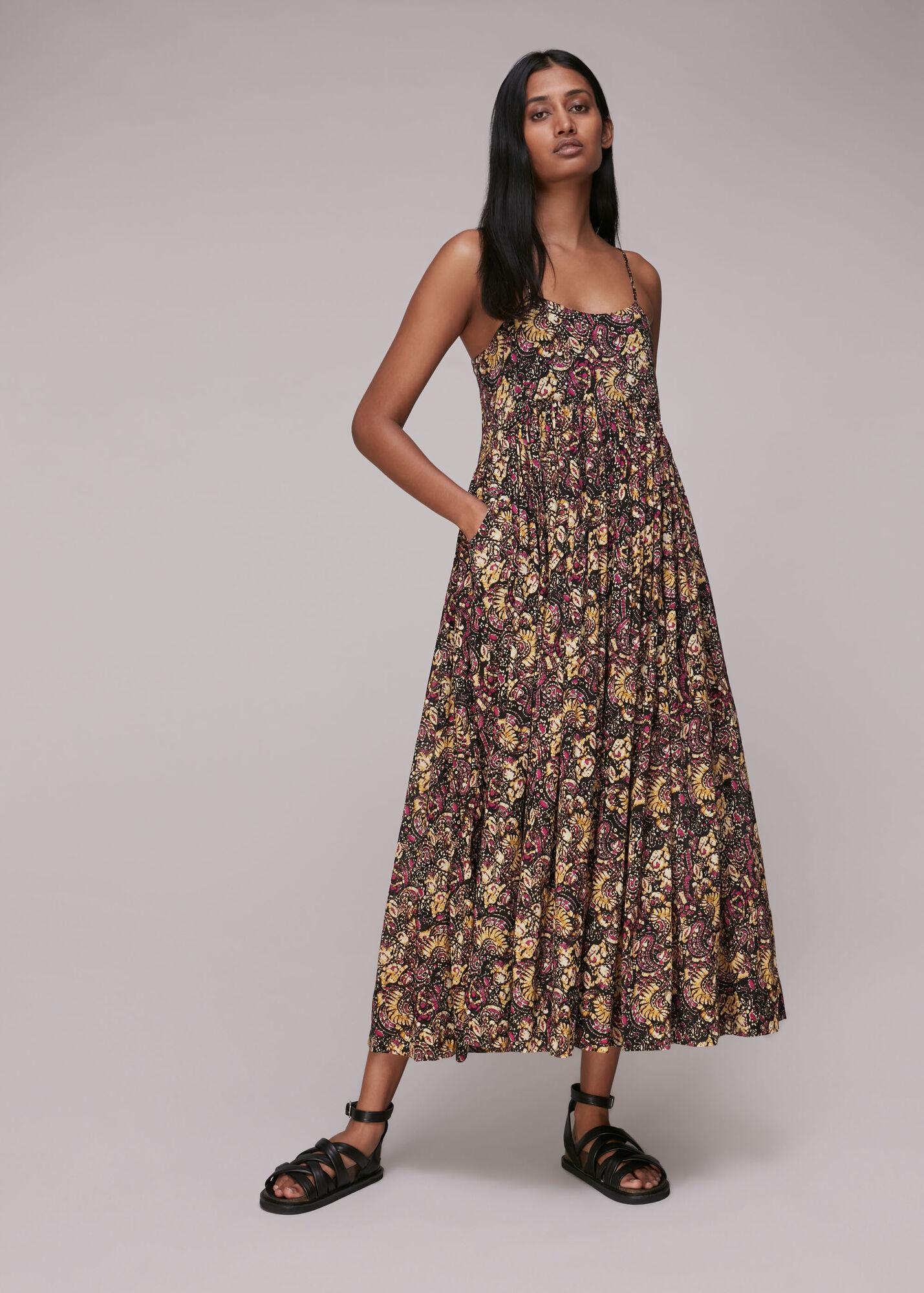 Batik Carmen Dress
