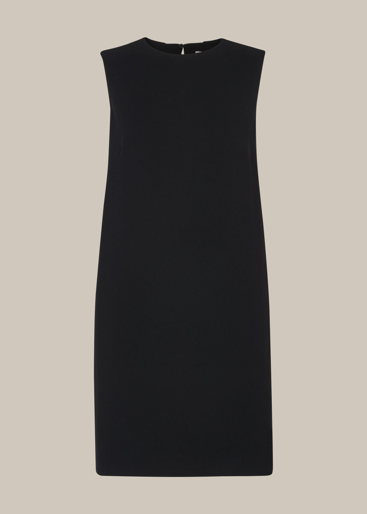 Cocoon Crepe Dress