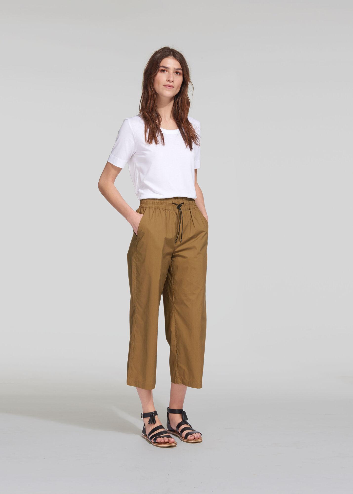 Ash Elasticated Poplin Trouser