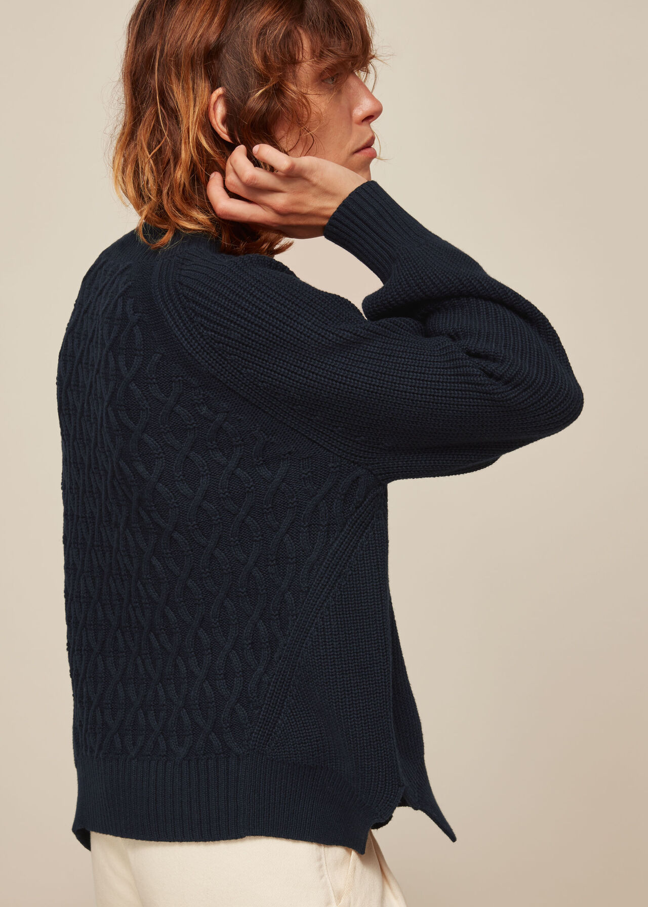 Cable Detail Knit