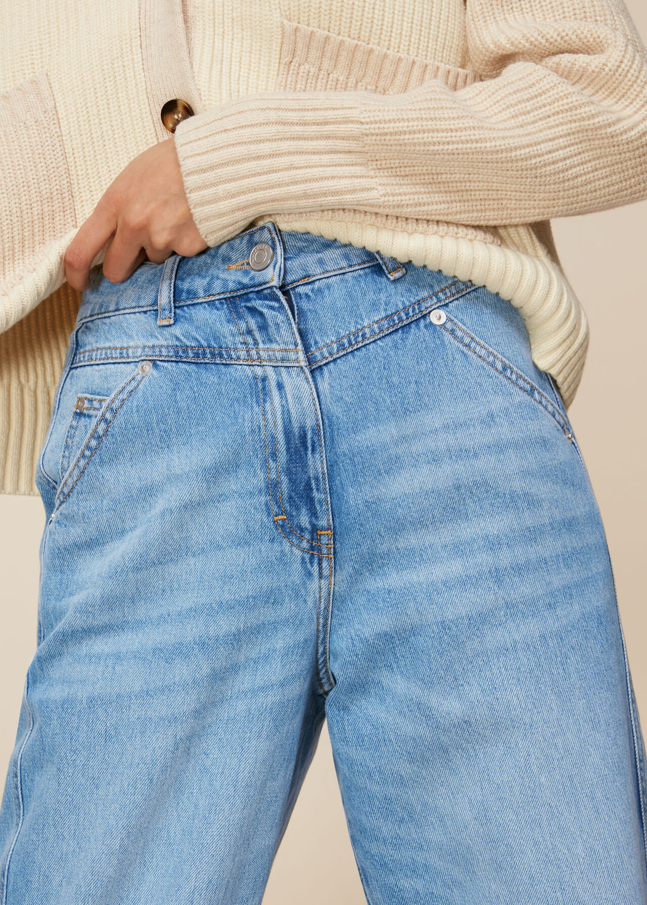 Seam Detail Jean