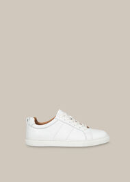 Koki Lace Up Trainer White