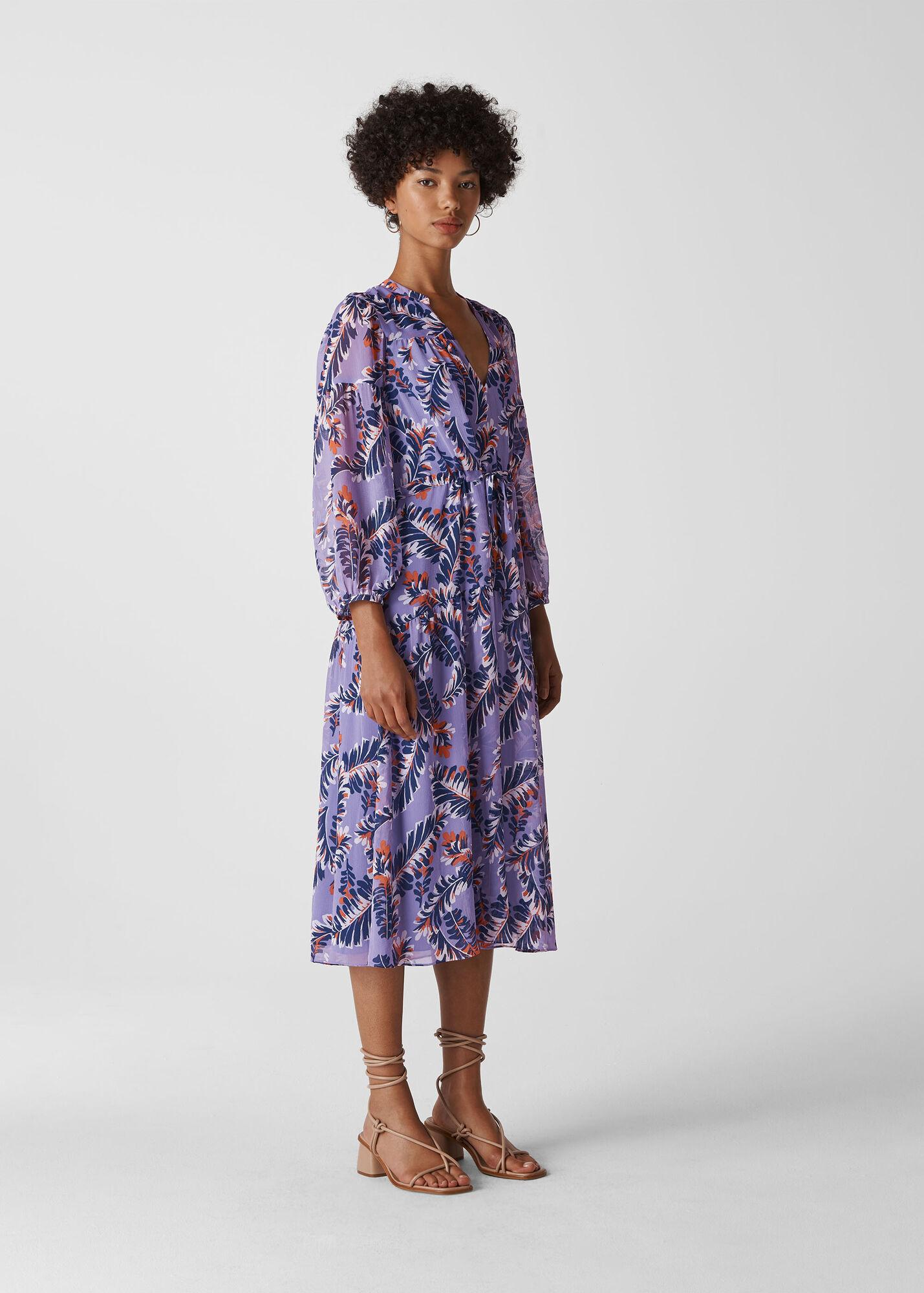 Josephine Print Midi Dress