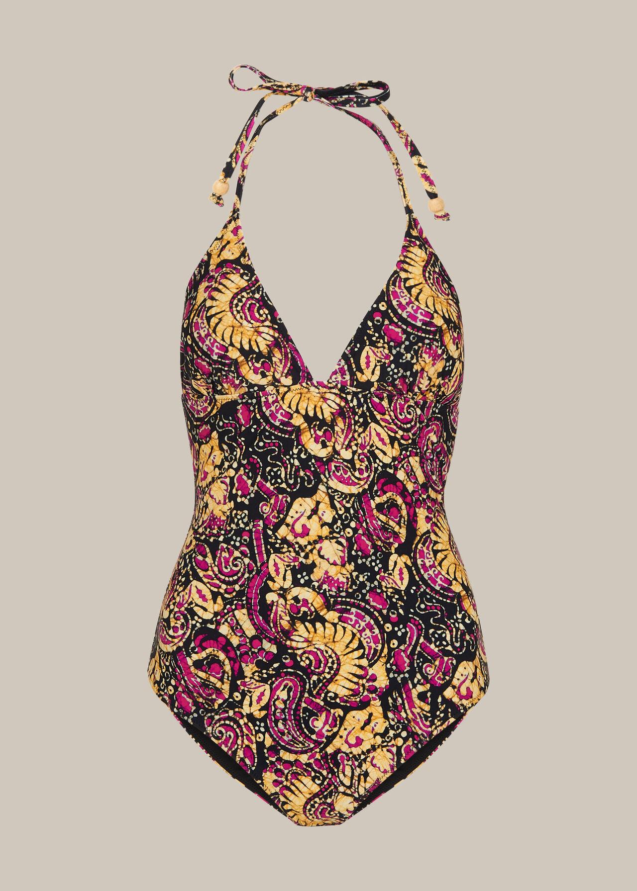 Batik Print Swimsuit