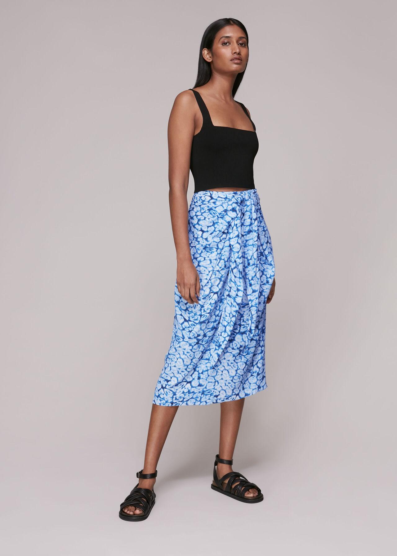 Clouded Leopard Sarong Skirt