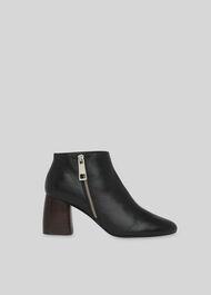 Pippa Side Zip Boot Black