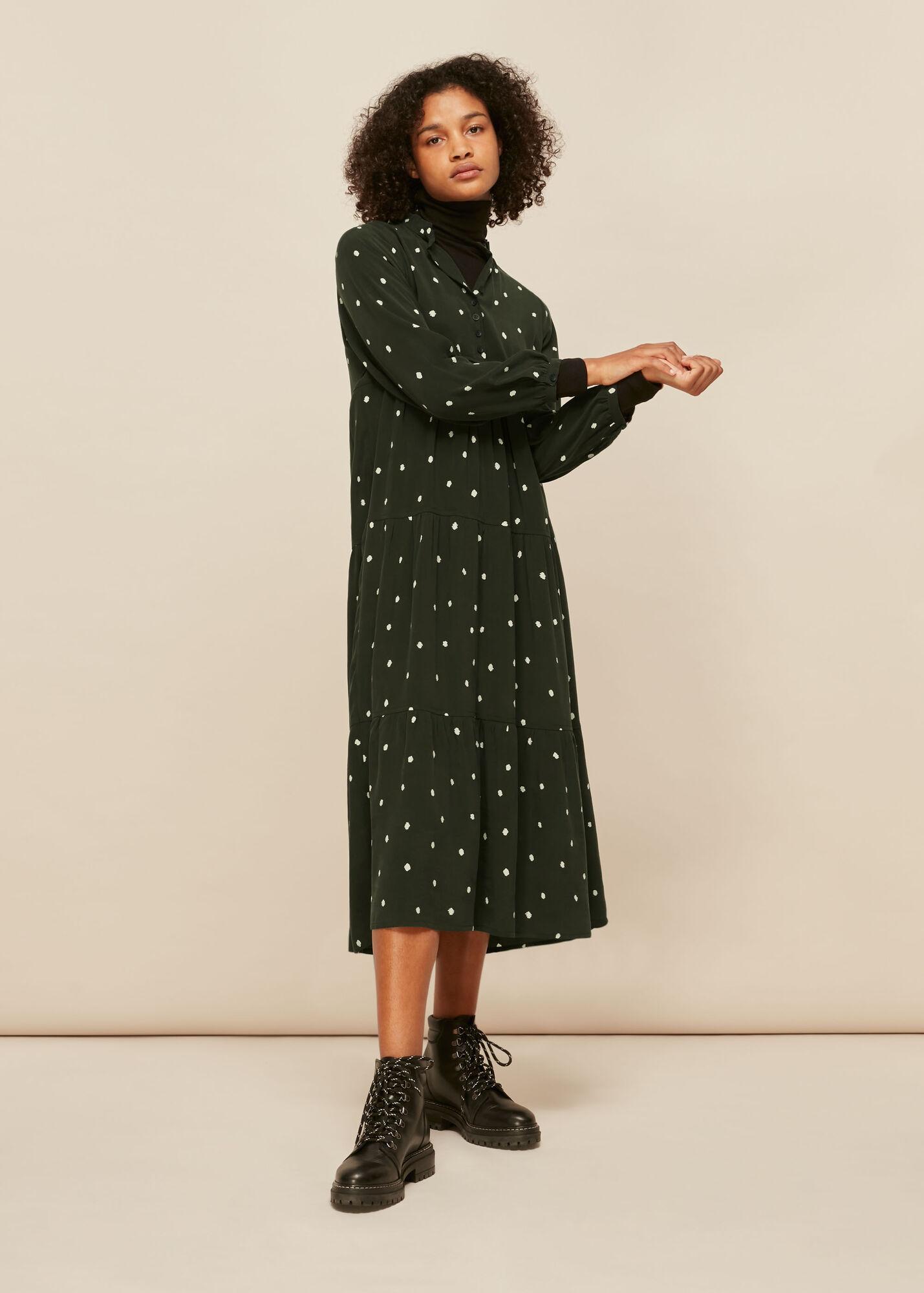 Longline Spot Enora Dress