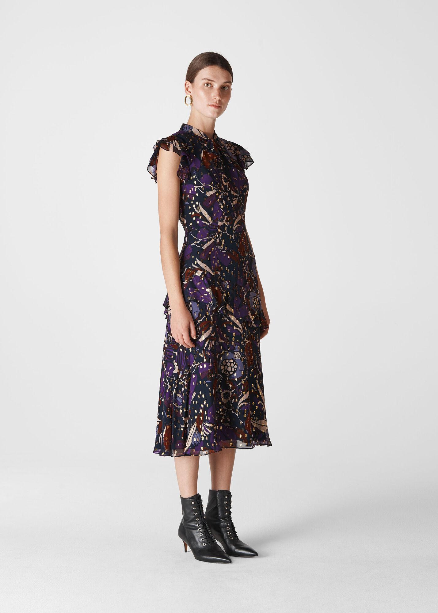 Montrose Dobby Midi Dress