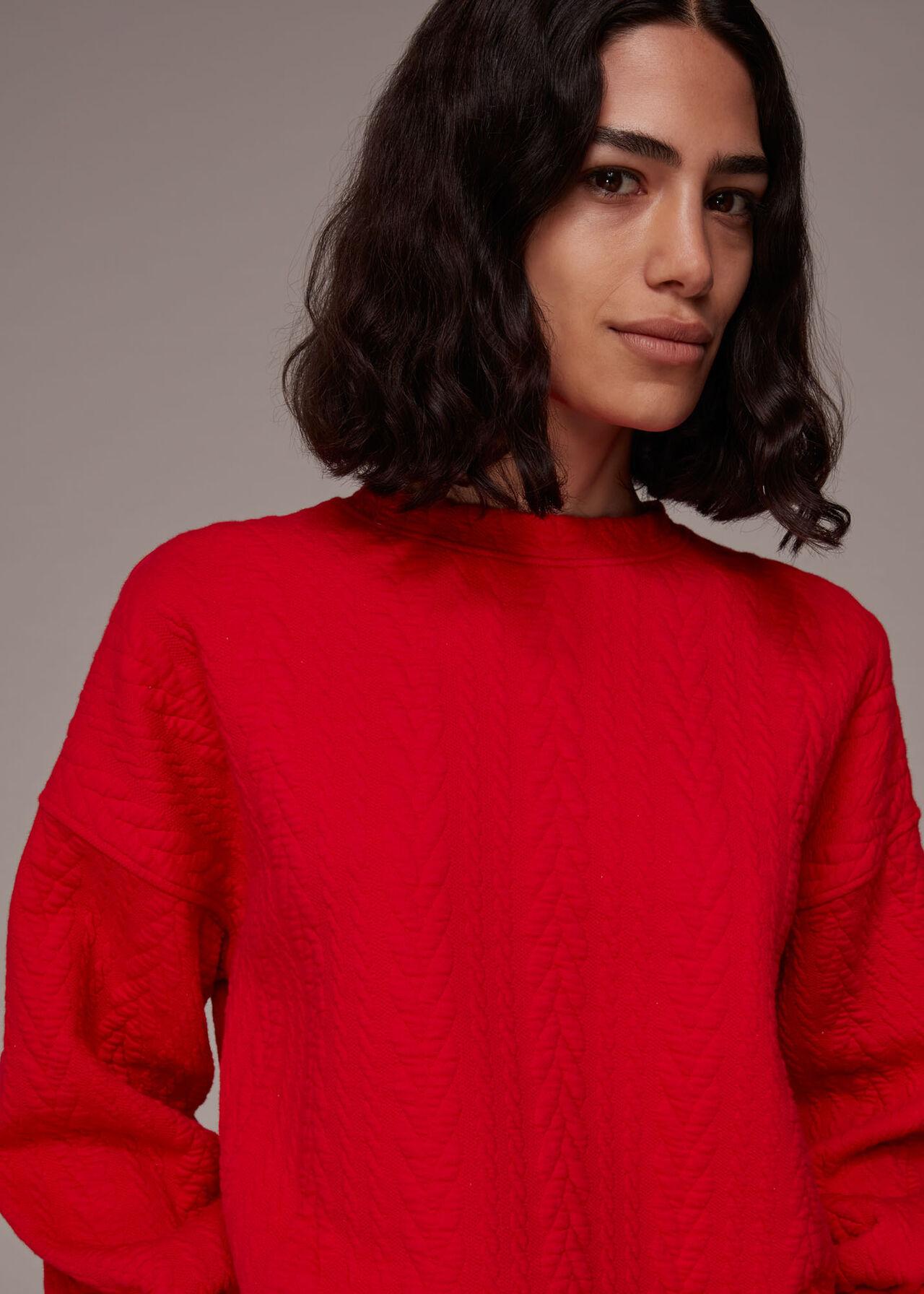 Cable Sweatshirt