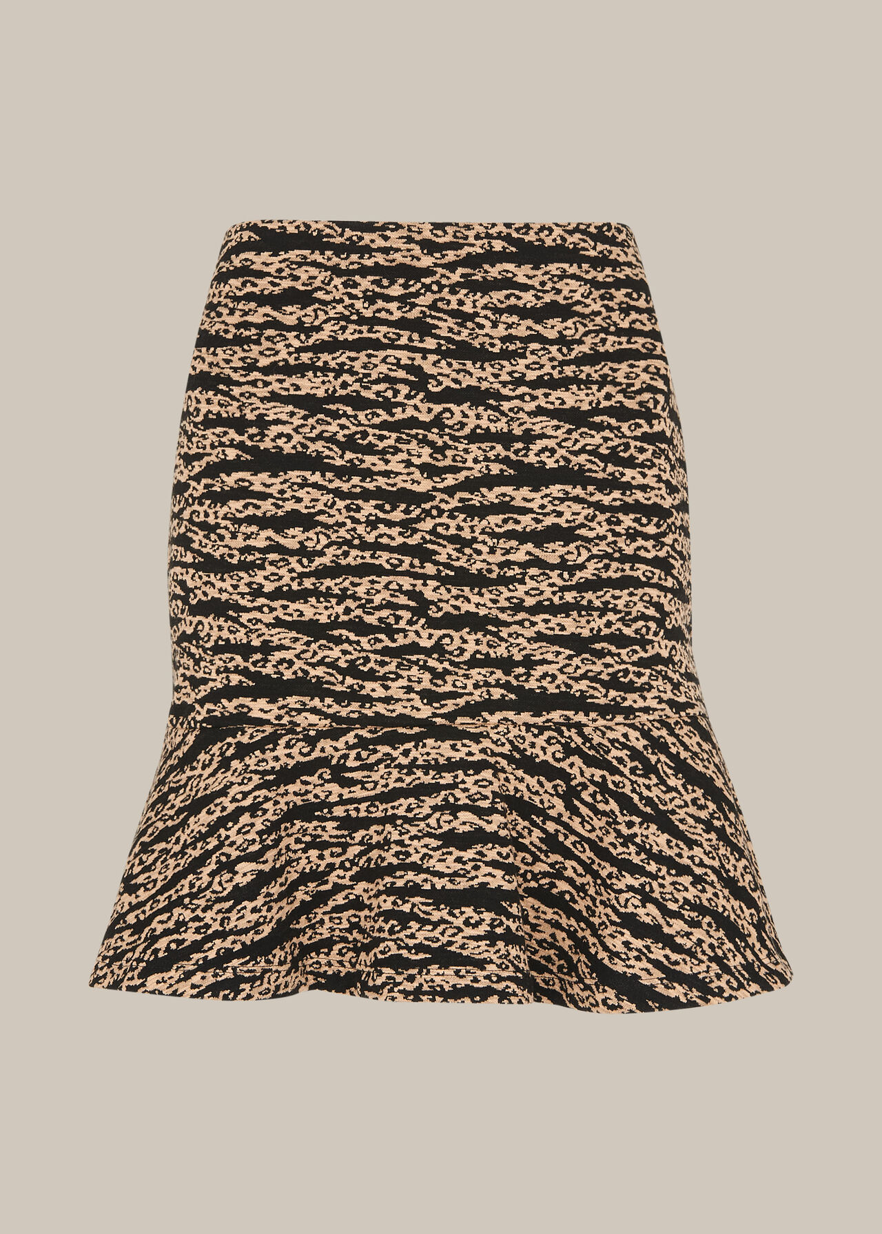 Tiger Leopard Flippy Skirt