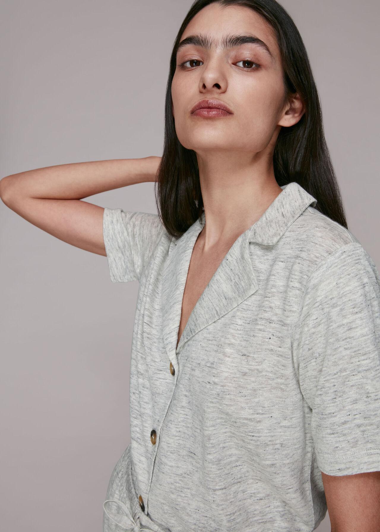 Linen Melange Pyjamas