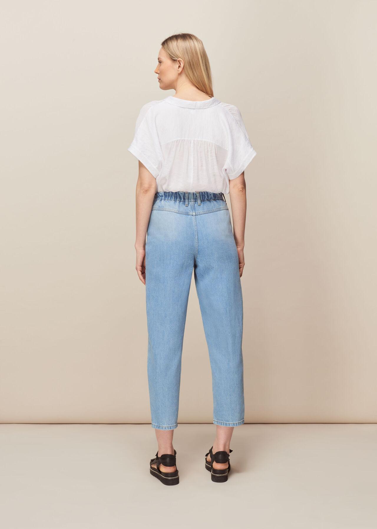 Elasticated Waist Soft Jean Denim