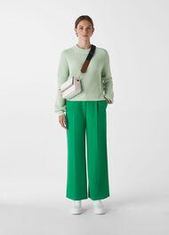 Fashion Detail Cotton Knit Mint