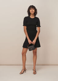 Yasmin Shirred Dress