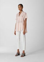 Linen Lea Shirt Pale Pink