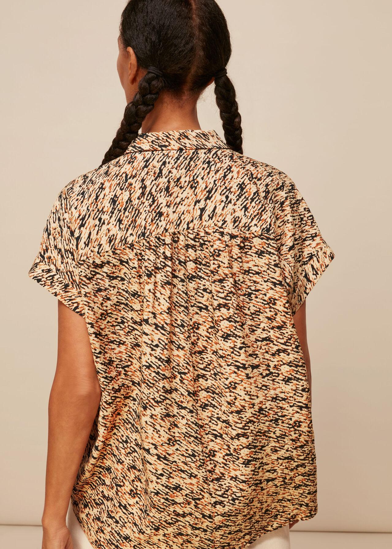 Bark Print Nicola Shirt