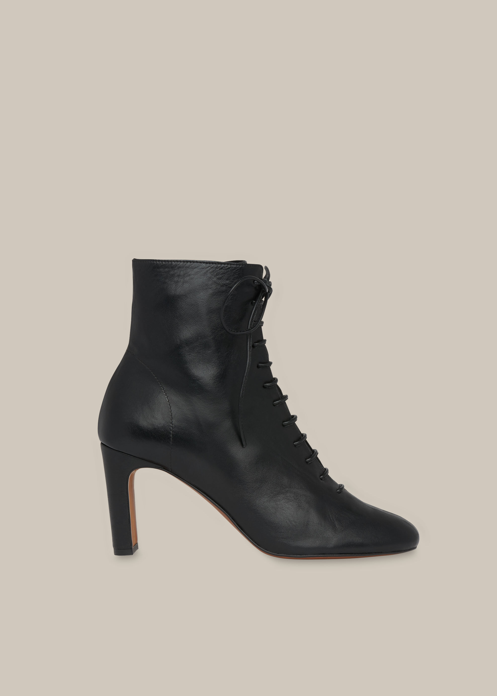 Dahlia Lace Up Boot | WHISTLES | Whistles