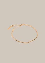 Seed Bead Chain Bracelet