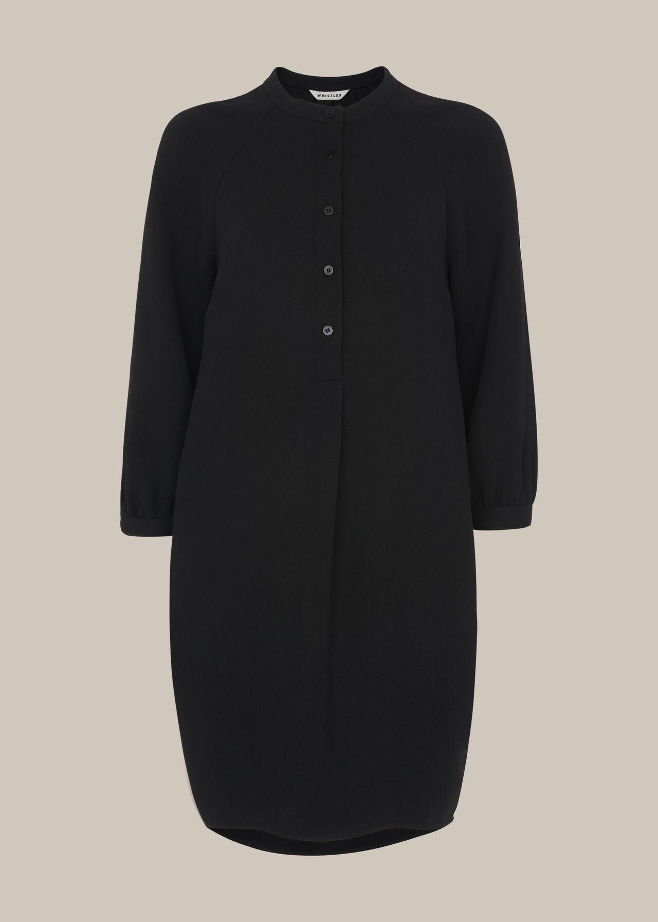 Crepe Button Through Dress