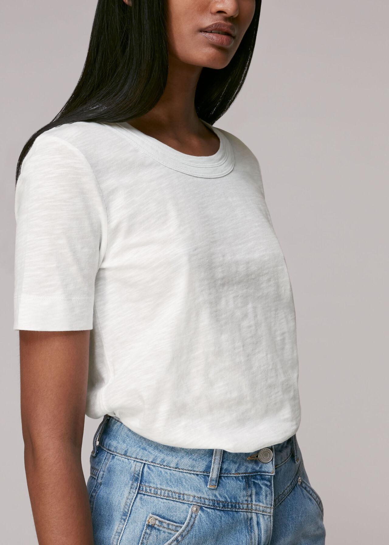 Rosa Double Trim T-shirt