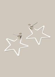 Mini Star Outline Earring