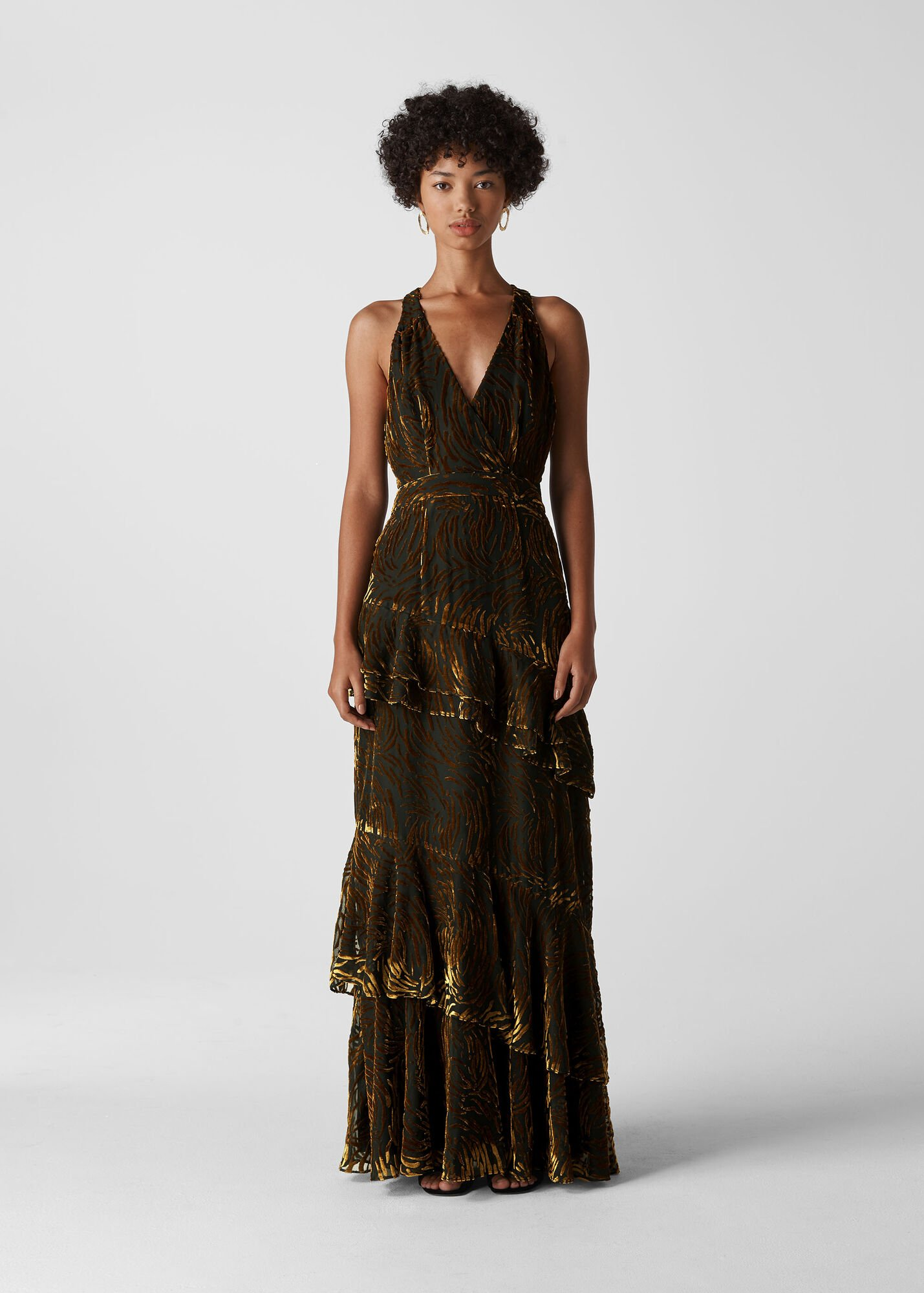 Edith Reed Print Maxi Dress