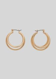 Large Multi Hoop Gold/Multi
