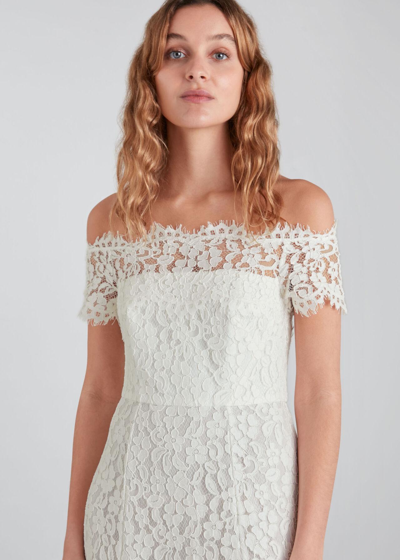 Rose Wedding Dress Ivory/Multi