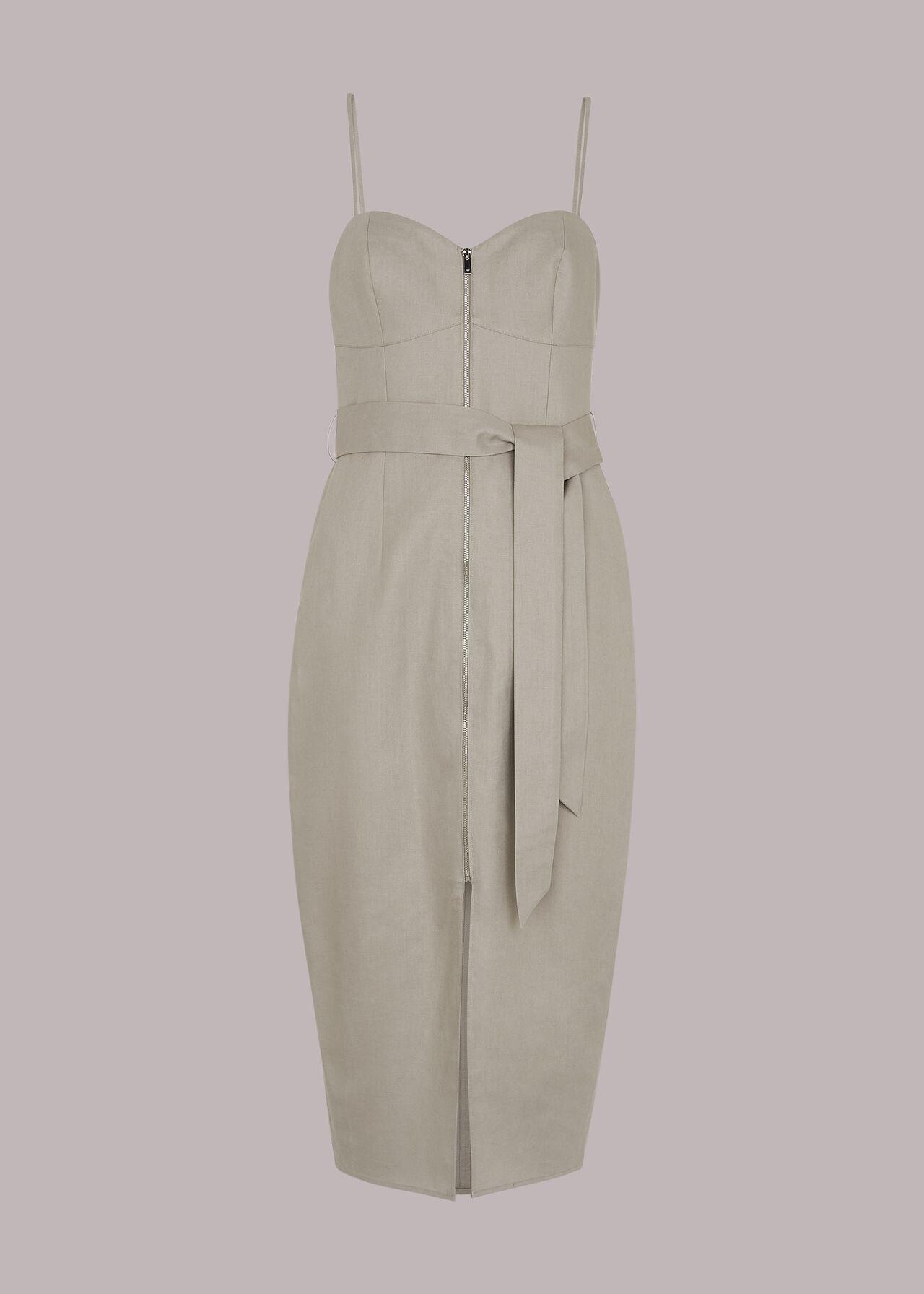 Zip Front Cami Dress