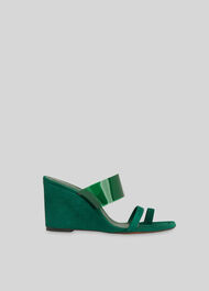 Thayer Perspex Wedge Green