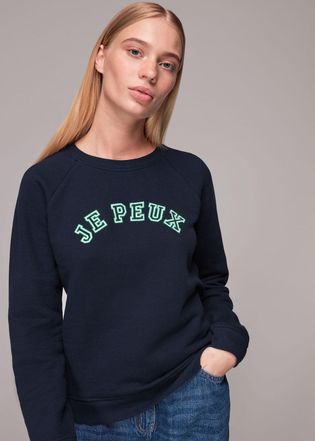 Je Peux Logo Sweatshirt