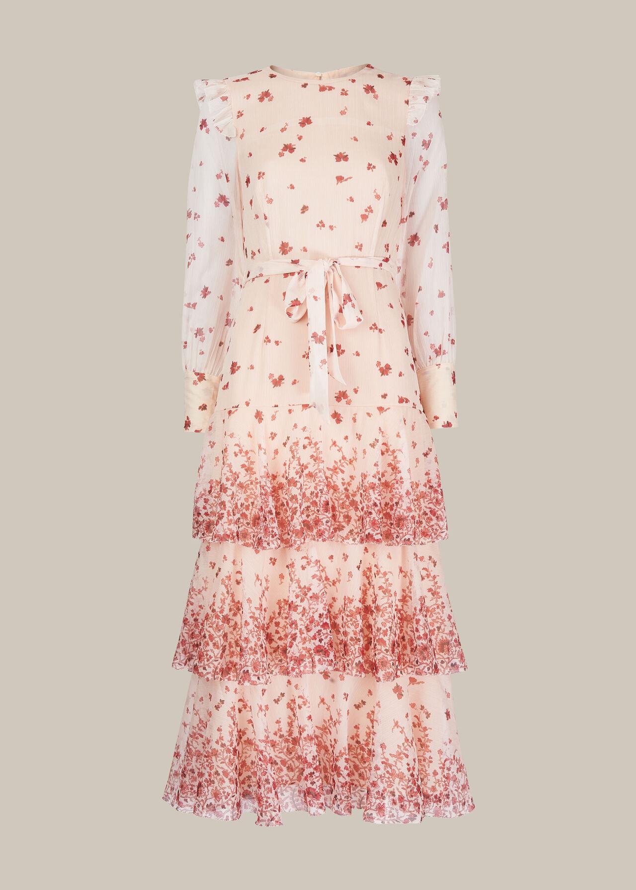 Eastern Blossom Dress Multicolour