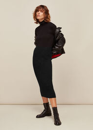 Annie Sparkle Knit Skirt