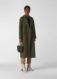 Rosie Double Faced Coat Khaki