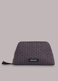Lenni Quilted Nylon Wash Bag