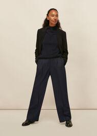 Pinstripe Full Length Trouser