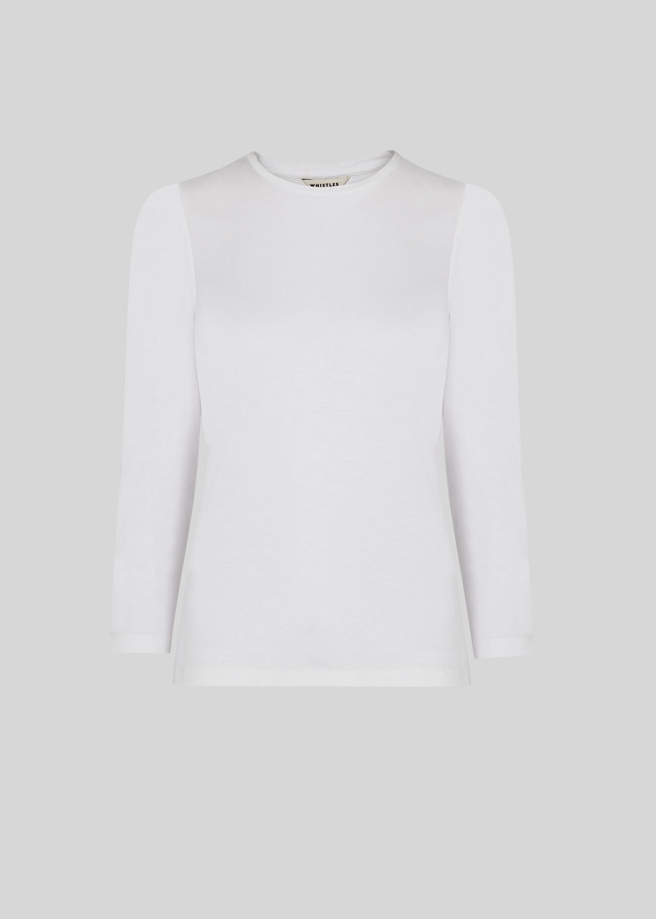 Puff Sleeve Top White