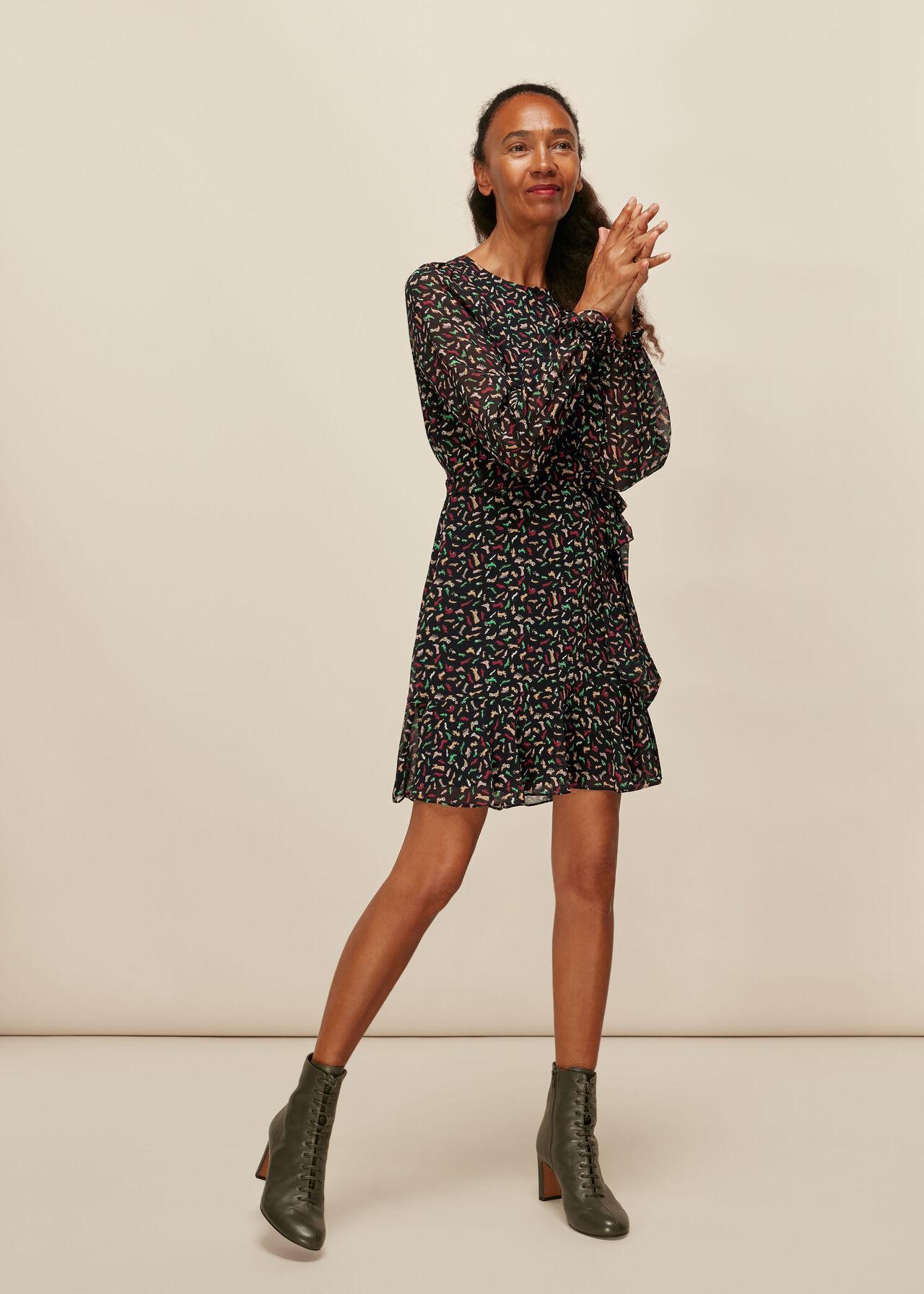 Shoe Print Dress