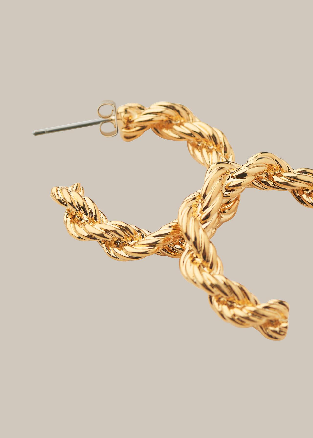 Twisted Rope Hoop