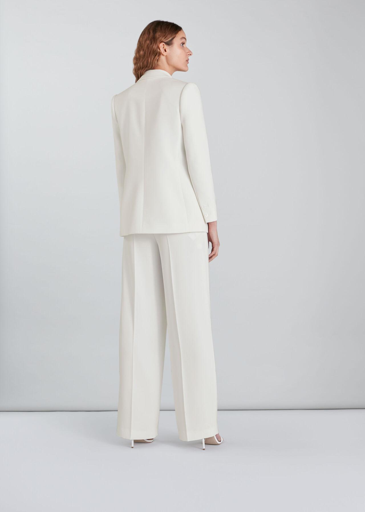 Annie Wedding Trouser Ivory/Multi