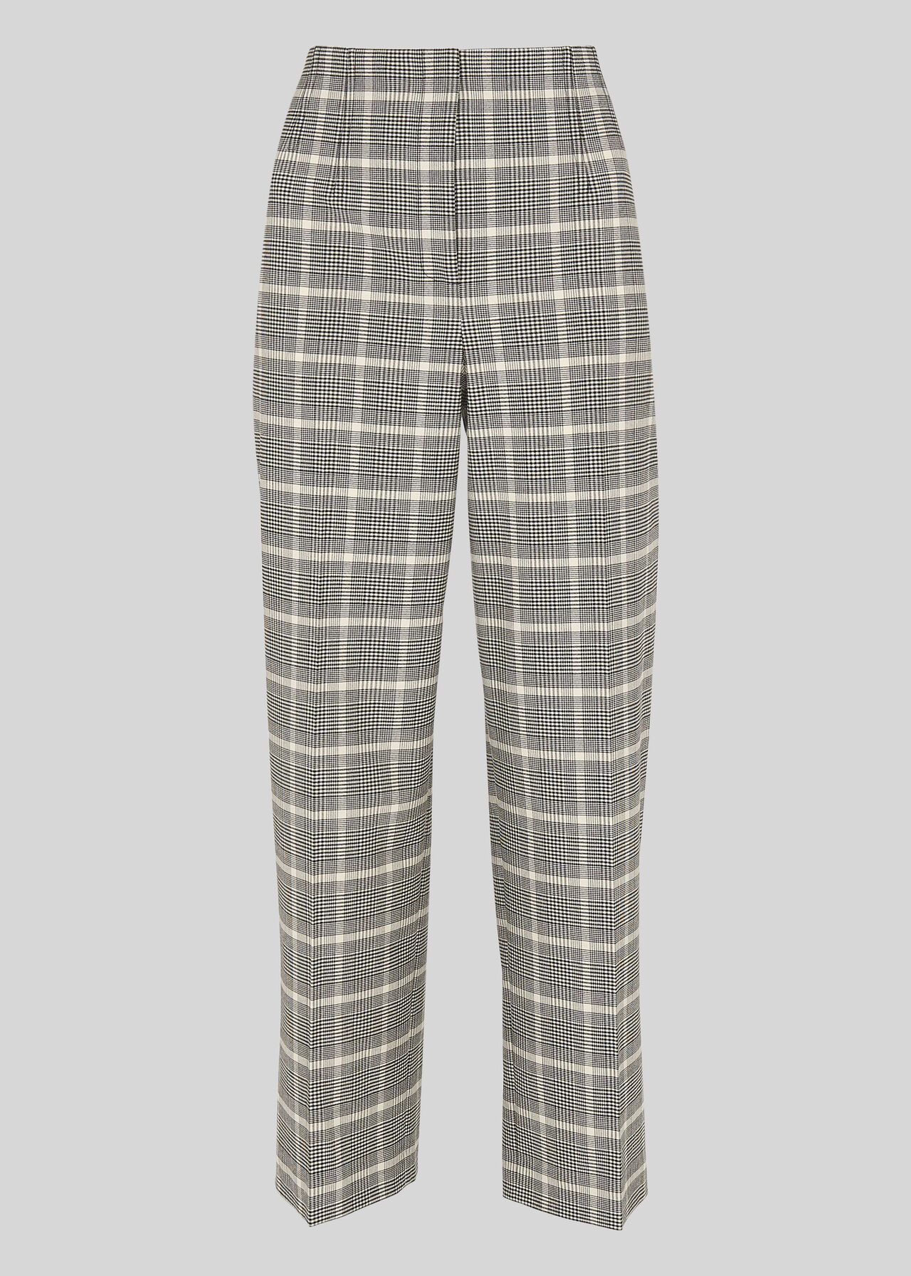 Courtney Check Trouser Black and White